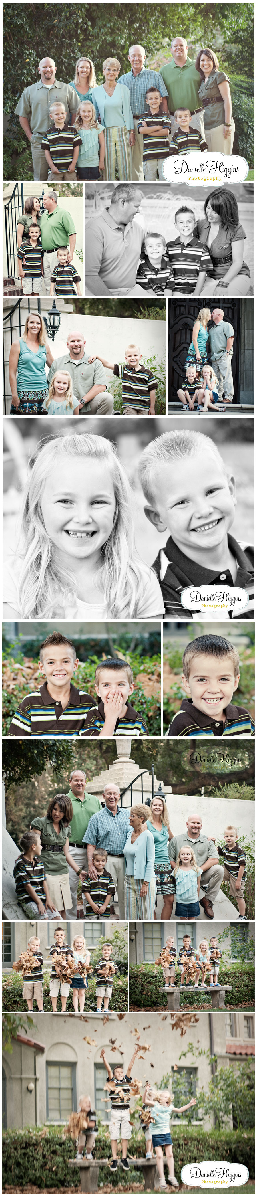 Claremont family photography